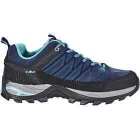 CMP Campagnolo Rigel Low WP Trekking Shoes Women Black Blue-Clorophilla
